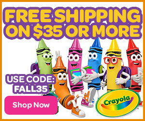 Free Shipping on $35 with FALL35