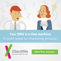 Your DNA is a time machine. It could reveal an interesting ancestor. Start your Journey Here!