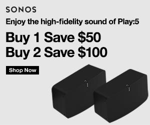 $150 CAD off the Sonos Play:5 at Sonos.com