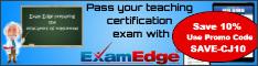 Exam Edge Home page