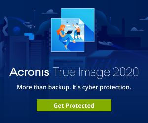 Image for EN Acronis True Image 2020 | Launch Banner