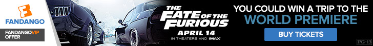 Fandango - Fate of the Furious Sweepstakes Banners