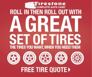 Get a Free Tire Quote Now at FirestoneCompleteAutoCare.com
