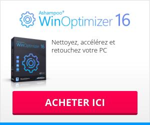 Logiciel gratuit de nettoyage PC Ashampoo WinOptimizer