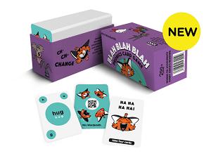 Blah Blah Blah Phonics Card Game 300x225