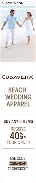 CUBAVERA 120x600 Wedding Apparel 40% Off