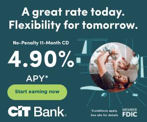 CIT Bank No-Penalty CD