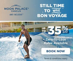 Palace Resorts $1,500 Resort Credit.