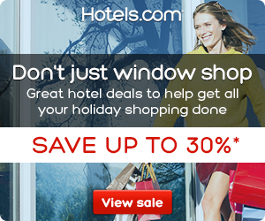 Hotels.com Canada Shopping Sale