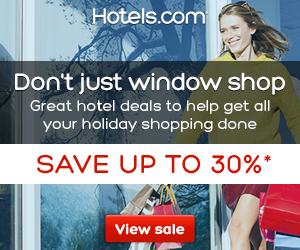 Hotels.com Canada Shopping Sale