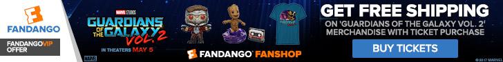 Fandango - Guardians of the Galaxy Vol. 2 GWP