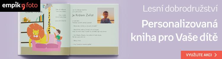 Vlastní kniha s příběhem a fotkami Vašeho dítěte