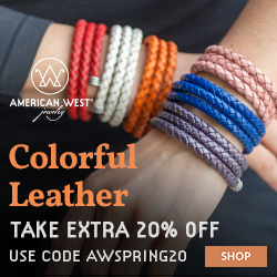Image for American West Jewelry - Leather
