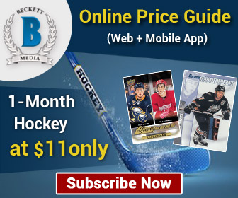 1 Month Hockey Online Price Guide (Web + Mobile App) Subscription._300x250