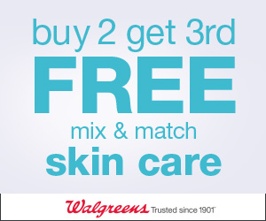 Walgreens skin care Deals 2018 - Buy 2 Get 3rd FREE Skin Care Event