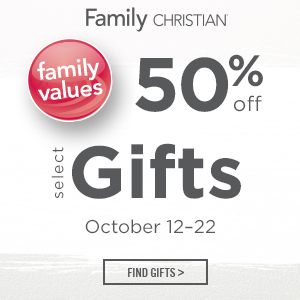 50% Off Select Gifts