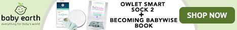 Bonus Bundle Savings! Get the Owlet Smart Sock 2 and Becoming BabyWise Book Bundle.