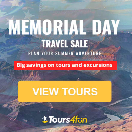 Save on Memorial Day Weekend Getaways: Tours up to 15% off!