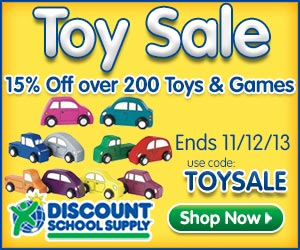 Discount School Supply Toy Sale