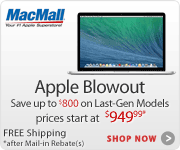 MacBook Pro & Air Sale - 3 Days Only! at MacMall.com