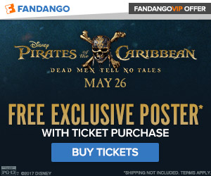 Fandango - Pirates of the Caribbean: Dead Men Tell No Tales GWP