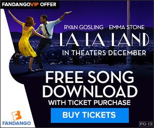 Fandango - La La Land GWP