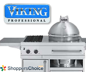 Stainless Steel Kamado Grill by Viking