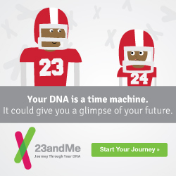 Your DNA is a time machine. It could give you a glimpse of your future – Start your Journey here!