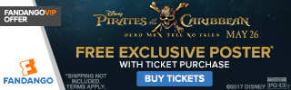 Fandango - Pirates of the Caribbean: Dead Men Tell No Tales GWP
