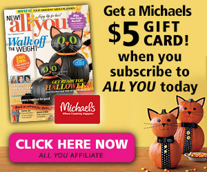 FREE $5 Michaels GIFT CARD fro...