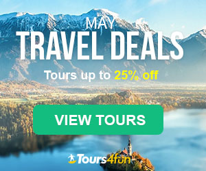 The May Travel Guide is here! Maximize your Spring Adventures with up to 25% off trips at Tours4Fun.