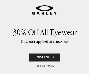30% Off Eyewear and Goggles + Free Shipping!