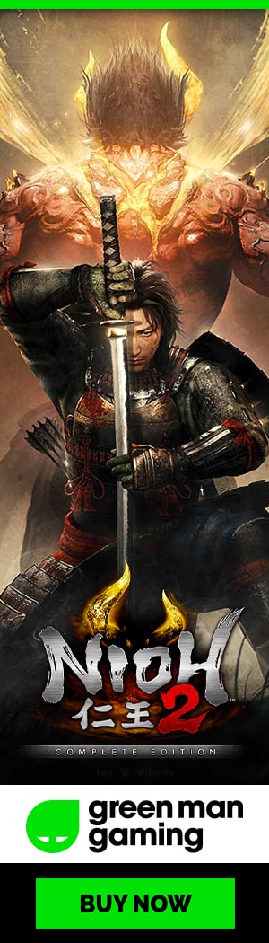 Buy Nioh 2: The Complete Edition for PC at Green Man Gaming