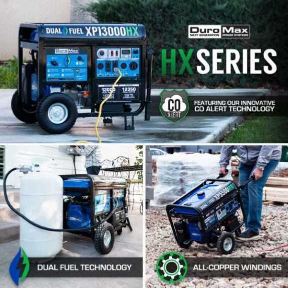 DuroMax HX Series Generators