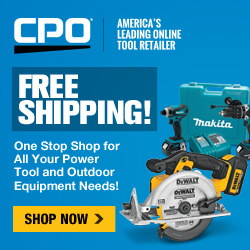 CPO Outlets-a one stop shop for all your outdoor equipment and power tool needs! Free Shipping!
