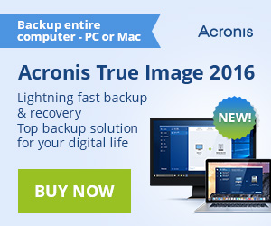 Acronis True Image 2014 with 250GB Cloud Storage for $74.99 only!