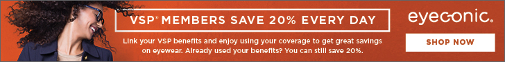 VSP Members Save 20% Every Day