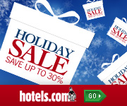 Holiday Sale at Hotels.com!
