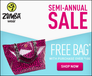 Zumba Semi-Annual Sale