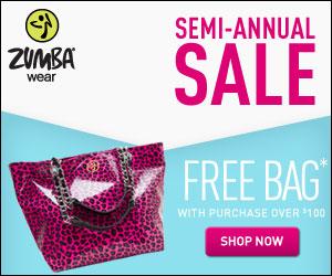 Zumba Semi-Annual Sale