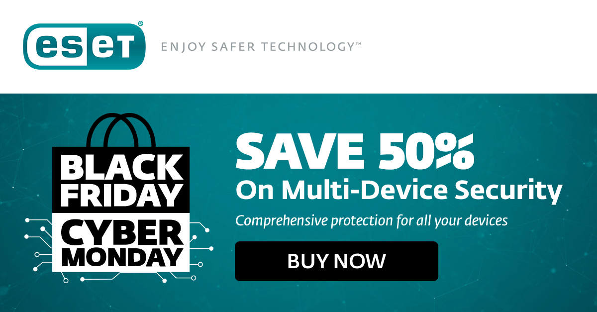 Save 25% with ESET