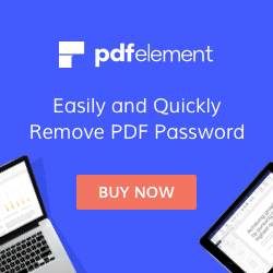 Remove PDF Password in a Second