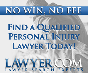FIND A QUALIFIED PERSONAL INJURY LAWYER TODAY!