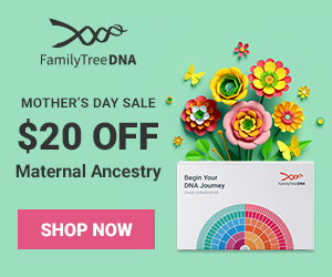 Save $20 on Maternal Ancestry DNA tests
