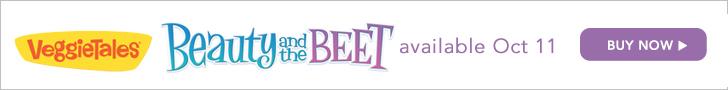 VeggieTales Beauty & The Beet DVD