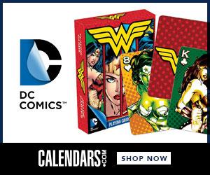 Shop DC Comics at Calendars.com Now!