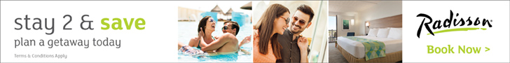Plan a getaway today with Radisson Hotels offers