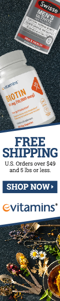 eVitamins - Free Shipping on US orders over $49 USD and 5 lbs or less at eVitamins.com!