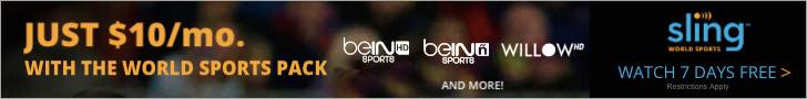 Sling TV World Sports