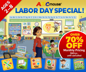 ABCmouse.com - Labor Day Sale! 1 Year for $45!